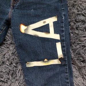 Custom LEVI Jeans
